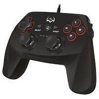 Gamepad SVEN GC-750, 4 axe, D-Pad, 2 mini joystick-uri, 11 butoane, USB