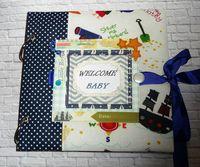Aльбом для новорожденного мальчика