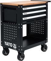 Шкаф для инструментов с 3 ящиками 162 шт. YATO