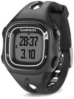 GARMIN Forerunner 10 Black and Silver Stylish, Simple GPS Captures Every Mile, Tracks distance, pace and calories, Start running with the press a button, Identifies personal records