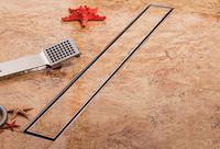 купить Трап водоотвод. линейный TILE INSERT (без решетки, под плитку) FLH40-A2 С16 600х70 комплект в Кишинёве
