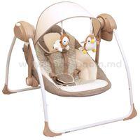 Baby Mix UR-BY012S BRO Электронные качели (0-9 кг.) коричневые