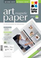 ColorWay Бумага фото COLORWAY A4 690г/м2/5 магнитная глянцевая