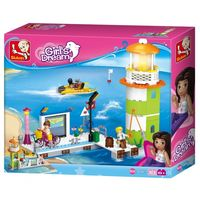 Конструктор  GIRL IS DREAM Lighthouse & Pier - Маяк и Пирс 279pcs