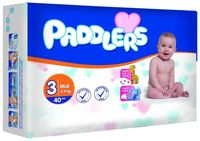 Подгузники Paddlers Standart №3 Midi 4-9kg 40