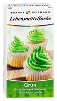 BRAUNS-HEITMANN Пищевой краситель зеленый, 2 x 4г
