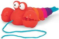 Battat игрушка каталка на веревочке омар