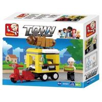 Sluban Constructor Town Hot-Dog Dinning Car