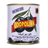 COOPOLIVA Маслины с косточкой,калибр 180/220. Вес 500 гр. Испания