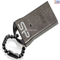 8GB USB2.0 Flash Drive Silicon Power Touch T01 Black