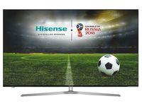 "55"" LED TV Hisense H55U7A, Dark Gray (3840x2160 UHD, SMART TV, PCI 2400Hz, DVB-T/T2/C/S2) (55'' ''World Cup Edition'' ULED TV 3840x2160 UHD, Metal Design, PCI 2400 Hz, SMART TV (VIDAA U2.5 OS), Local Dimming (16 Zones), HDR Plus, HDR10, HLG, 4 HDMI, 2 USB (foto, audio, video), Display color depth 8bit+FRC, Wi-Fi (802.11ac, dual-band (2.4G and 5G), DVB-T/T2/C/S2, OSD Language: ENG, RU, Speakers 2x10W Dolby Audio, VESA 400x200, 20.6 Kg)"