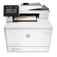 Multifunctionala laser color HP LaserJet MFP M477fdw White