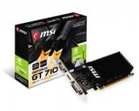 MSI GeForce GT710 1GB DDR3 64Bit