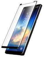 Cellularline Tempered Glass for Samsung Note 8 Curved Black
