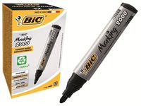 Marker permanent BIC 2000 varf rotund, negru