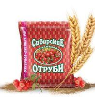 🌿 Сибирские отруби «Пшеничные» натуральные с клюквой.