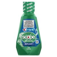 CREST MOUTHWASH - SCOPE OUTLAST 1 LITER