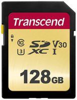 Сard de memorie Transcend SDXC 128Gb Class 10 UHS-I (TS128GSDC500S)