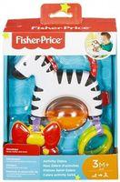 Jucărie educațională - Zebra pe o ventuză  Fisher-Price, cod FGJ11