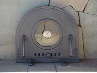 Дверца чугунная со стеклом и термометром PIZZA 6Т