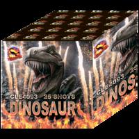 Батарея салютов Dinamit Dinosaur CLE4093