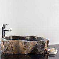 Chiuveta baie Petrified Wood, 56 x 48 x 15 cm