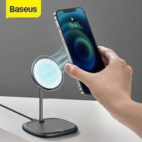 Зарядное устройство беспроводное Baseus Swan Magnetic Desktop Bracket Wireless Charger