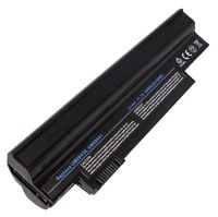 Battery Acer Aspire One 532h 533 eMachines 350 Gateway LT21 PackardBell Dot S2 UM9H31 UM09G31 UM09H36 UM09H41 UM09G41 UM09G51 UM09H56 UM09C31 UM09H73 11.1V 4400mAh Black