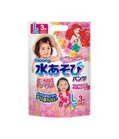 Трусики для плаванья Moony L (9-14 кг) для девочек 3 шт