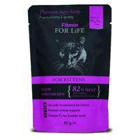 Fitmin For Life Kitten Fillets Chiken 85g