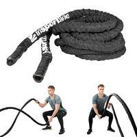 Канат для кроссфита 15 м, d=5 см inSPORTline 12265 black (2599)