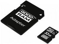 Сard de memorie Goodram M1AA 32GB microSDHC Class10 UHS-I + SD adapter (M1AA-0320R12)