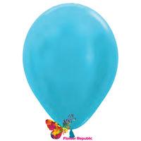 cumpără Balon de latex,  azuriu nacru - 30 cm în Chișinău