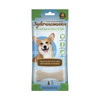 Зубочистки кальциевые для собак средних пород  90 gr