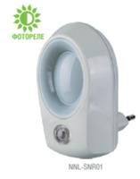 LED (0.5Wt) фотореле NNL-SNR01-WH