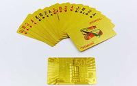cumpără Carti de joc IG-4567 Gold 500 EURO (54 buc., 0.28 mm) (3832) în Chișinău