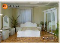Спальня Футура шкаф  2.0 белый