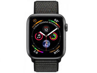 Умные часы Apple Watch 4 44mm, Space gray, Black Sport Loop