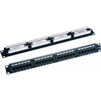 LY-PP5-05, 24-Port Patch Panel Cat.5E