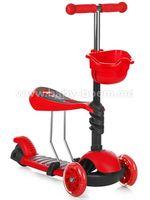Chipolino Самокат Kiddy DSKI01708RE красный