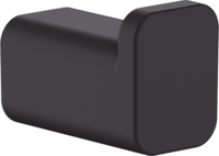 AddStoris Cuier pentru prosop, negru mat