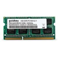 4GB DDR3-1600MHz SODIMM 204pin Goldkey PC12800, CL11, 1.35V