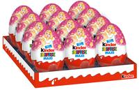 Kinder Surprise шоколадное яйцо, девочки, 100г