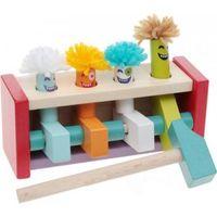 Cubika Деревянная игрушка стучалка Клоуны