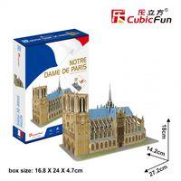 CubicFun 3D пазл Собор Парижской Богоматери (Нотр-Дам),   40 деталей