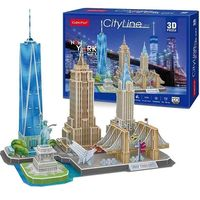 CubicFun пазл 3D City Line New York