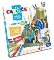 Carioca Create&Color Elephant 3D (42902)