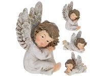 """купить Статуэтка """"Ангел-мальчик"""" сидящий / лежащий 7.5X6сm в Кишинёве"""