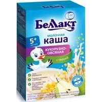 Беллакт каша кукурузно-овсяная молочная с грушей, 5+мес. 250г