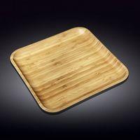 Platou WILMAX WL-771176 (40,5x40,5 cm/ bambuc)